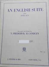 Frederick Candlyn An English Suite Organ Unmarked