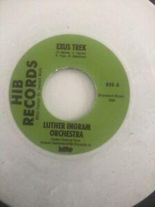 White Vinyl - Exus Trek / If It's All The Same To You Babe - Luther Ingram
