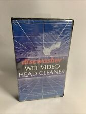 Discwasher Wet Video Head Cleaner VHS Liquid NEW Sealed Fast Free Shipping