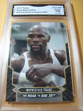 FLOYD MAYWEATHER 2017 TOPPS NOW ROAD TO AUG. 26 # 14 GRADED 10  L@@@K