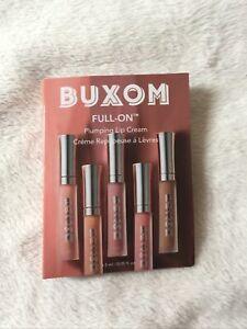 BUXOM Full On Plumping Lip Cream WHITE RUSSIAN .05 oz/1.5 ml MINI
