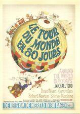 REPRODUCTION CARTE POSTALE - LE TOUR DU MONDE EN 80 JOURS / POSTCARD REPRO