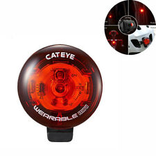 CATEYE Bicycle Mini Taillight Multi-function Warning Wearable HelmetLight Safety