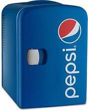 Pepsi GMF660 Portable 6-Can Mini Fridge Cooler & Warmer, Home, Office, Car AC/DC