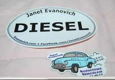 Janet Evanovich Magnet & Sticker Promoting her books