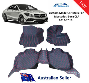 Mercedes-Benz CLA 2013-2019 Full Surrounded Custom Made Car Floor Mats/Carpets
