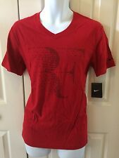 Nike Federer RF Practice Tennis Tee Shirt Fit - Large
