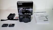 Canon PowerShot G7 X Mark II - 20.1MP Point & Shoot Digital Camera - Black
