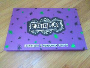 Beetlejuice Eyeshadow & Highlighter Pallet