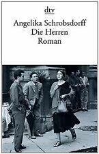 Die Herren: Roman von Schrobsdorff, Angelika | Buch | Zustand gut