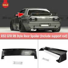 For Nissan Skyline GTR R32 RockBunny RB Style FRP Rear Trunk Spoiler Wing Parts