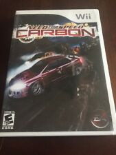 Need For Speed Carbon Nintendo Wii Used