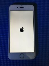 APPLE iPHONE 6S 64GB SILVER CRACKED WORKS BAD ESN
