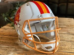 STEVE YOUNG Edition TAMPA BAY BUCCANEERS Riddell Speed AUTHENTIC Football Helmet