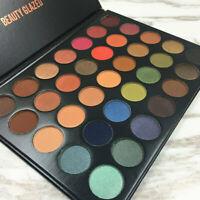 35 Colors Beauty Glazed Cosmetic Matte Eyeshadow Eye Shadow Makeup Palette Set