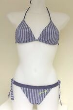 GUESS BY MARCIANO Womens bikini set BNWT blue denim look colour size 42/S FD2H84