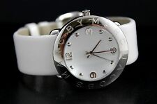 Marc by Marc Jacobs MBM1136 Amy White Dial Ladies Watch with Leather Band