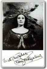 Joan Sutherland Autographed Preprint Signed Photo Fridge Magnet