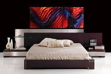 METAL WALL ART PAINTING ABSTRACT MODERN LARGE SCULPTURE - North River