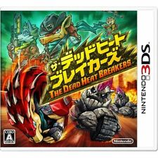 The Dead Heat Breakers  NINTENDO 3DS JAPANESE VERSION JAPANESE SYSTEM ONLY !