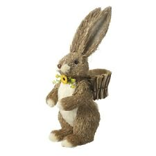 Heaven Sends Bristle Rabbit Easter Home Decoration - Lovely Easter / Home Gift