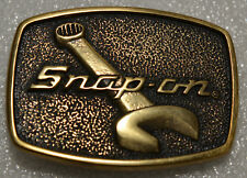 Snap-on Tools Solid Brass Belt Buckle Limited Edition Collectable SPP-586