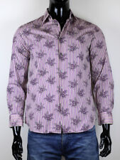 PAUL SMITH MEN'S FLORAL PRINT SHIRT SIZE 15 1/2 39 MADE IN ITALY