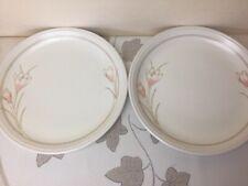Biltons Spring Bouquet / Crocus 2 x Dinner Plates Good Used Condition 24.50cm