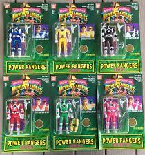 Mighty Morphin Power Rangers Set Of Six Action Figures