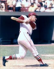 Awesome Roger Maris At Bat Cardinals Great, Color 8x10 Glossy