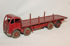1950's Dinky #905 Foden Truck with Chains, Maroon Red, Original
