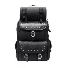 Motorcycle motorbike universal  Leather Tool kit Saddle Sissy bag OSX  AC451 SL