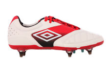 Umbro Men's Geometra Pro A SG Football Boots - Red/White - UK 7 - New