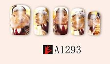Nail Art Water Decals Stickers Transfers Wraps Easter Bunny Rabbits Kawaii A1293