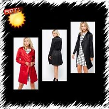 Knee Length Cotton Plus Size Coats & Jackets for Women