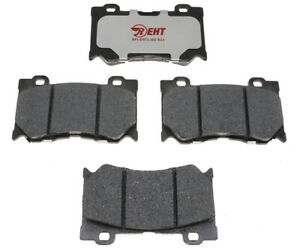 Disc Brake Pad Set-Element3; Hybrid Technology Front Raybestos EHT1346