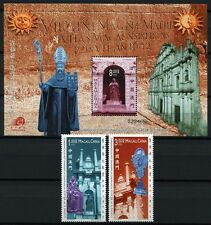 MACAU MACAO 2002 Church of St. Paul Kirche Religion 1201-2 + Bl.101 ** MNH