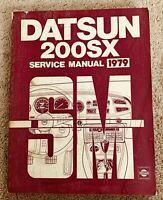 1979 Datsun 200SX 200 SX Service Repair Shop Manual