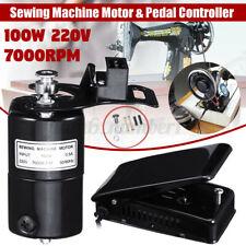 220V 100W 0.5A 7000rpm Domestic Domestic Pedal Sewing Machine Motor  +A