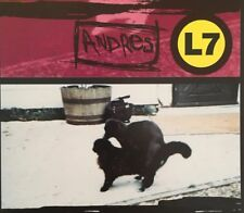 L7 - Andres, The Bomb + Interview 3 Track CD Single 1994 Australia