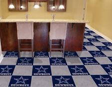 """Fanmats NFL-Dallas Cowboys Carpet Tiles 18"""" x 18in tiles- 8565 Sports memorable"""