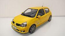 1:18 OTTOMOBILE OT552 RENAULT CLIO 2 RS PH.3 YELLOW RESIN CARS