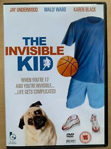 The Invisible Kid DVD 1988 Cult 1980s High School Coedy Movie w/ Jay Underwood