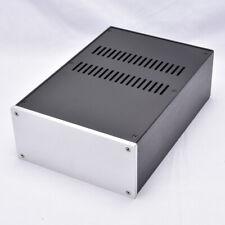 Full Aluminum Enclosure Case Power amp Chassis PSU box  220*100*311mm    L14-34