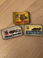 Set Of 3 Vintage Little Debbie Fridge Magnets
