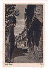 AK SW Stille Gasse mit Fachwerkhäusern um 1910 Kunstanstalt Stengel & Co. G.M.b.