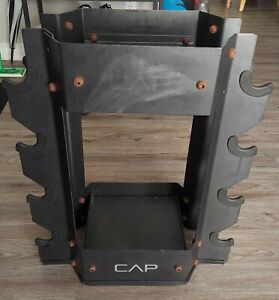 CAP Barbell Dumbbell and Kettlebell Storage Weight Stand Rack Storage