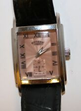 Rotary Quartz Wrist watch sub Dial working condition GS00001 used Rectangular