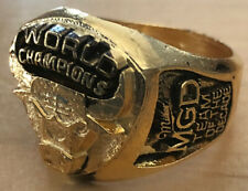 1997 Chicago Bulls NBA Finals Championship Ring Miller Beer Lite Michael Jordan