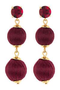 Kate Spade New York Women's Linear Graduated Ball Earrings